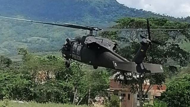 Helikopter Presiden Ditembaki KKB, Beberapa Bagian Ditembus Peluru