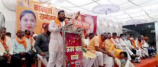कांग्रेस पार्टी ने किसान का कर्ज तो माफ नहीं किया उल्टा डिफाल्टर बना डाला - विधायक दांगोरे