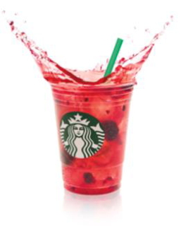 Barista for a Night with Starbucks Refreshers...and more