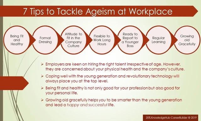 7 Tips to Handle Age Discrimination at the Workplace