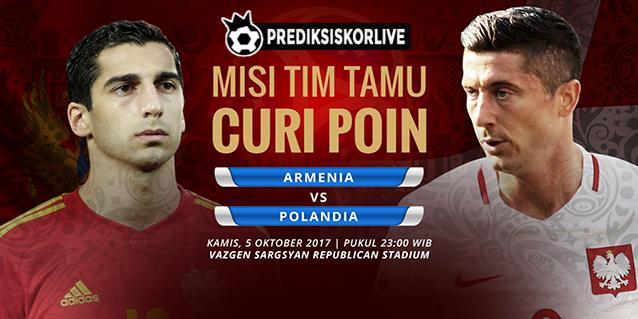 Prediksi Bola Armenia vs Polandia