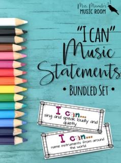 """I can"" music statements bundled set: One of many revised products in Aileen Miracle's store! If you've already purchased, go to ""my purchases"" and re-download!"