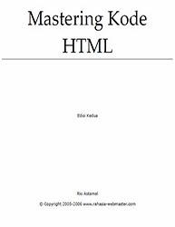 ebook belajar html