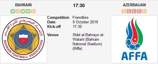 bahrain vs azerbaijan