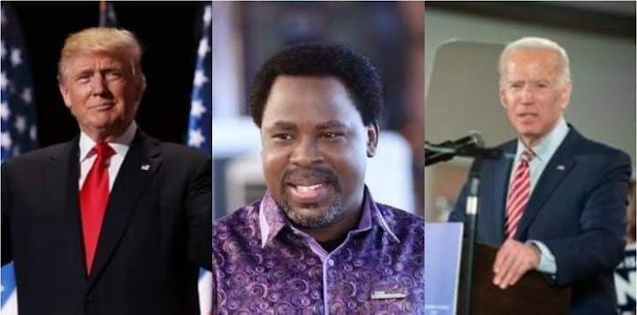 """There Will Be A New President In America"" - Prophet T.B. Joshua/IG"