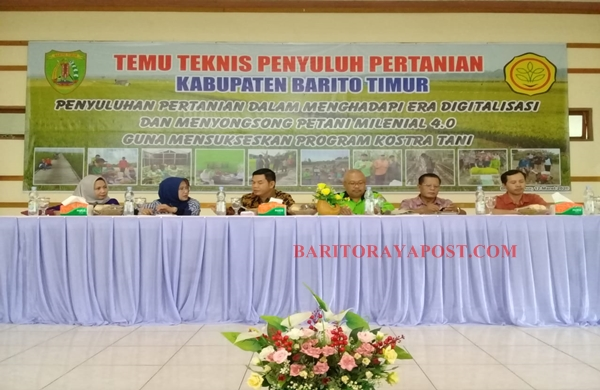 Bupati Barito Timur: Penyuluh Adalah Ujung Tombak Pembangunan Pertanian
