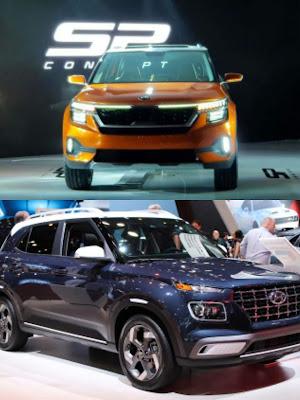 Hyundai Venue vs Kia Seltos: Turbo-petrol Real-world Performance and Mileage Comparison : Teamstechnology