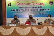 Tim Puslitbang Polri Kunjungi Polresta Bandarlampung