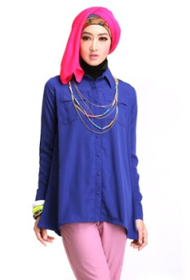 Model baju atasan muslim wanita muslimah terbaru