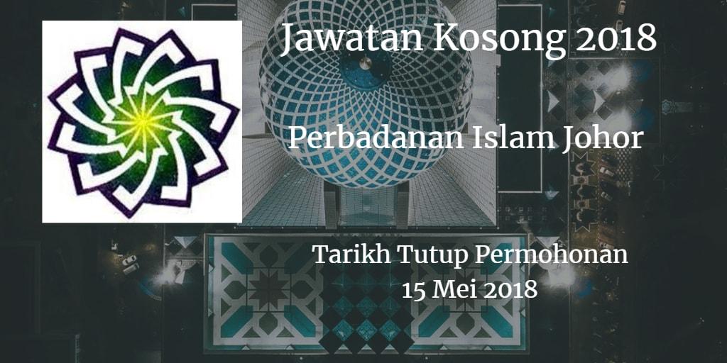 Jawatan Kosong PIJ 15 Mei 2018