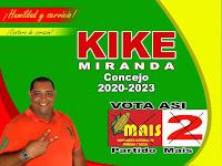 Vote por Kike Miranda Al concejo de Juan de Acosta