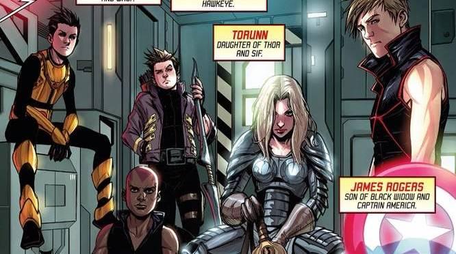berbagai macam Next Avengers adalah tim di Earth-10071