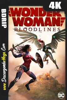 Wonder Woman Bloodlines (2019) 4K UHD [HDR] Latino