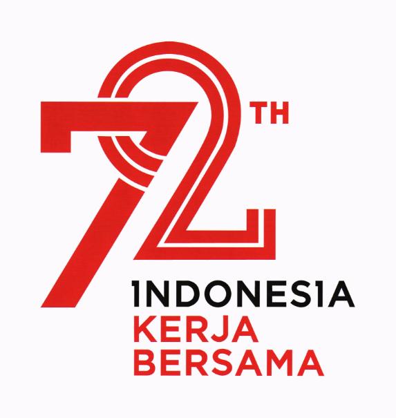 Logo HUT RI Ke 72 Tahun 2017
