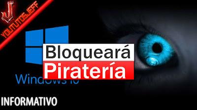 Piratería, Bloqueará piratería