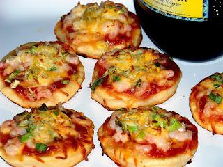 Resep Mini Pizza Jamur Keju
