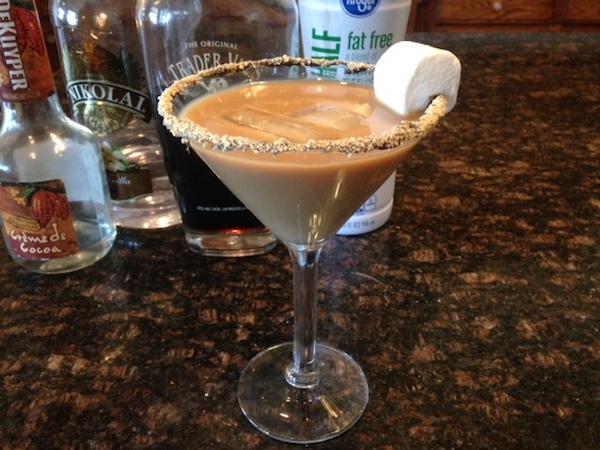 s'mores martini recipe