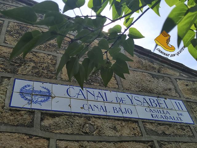 CASILLA DE GUADALIX CANAL DE ISABEL II