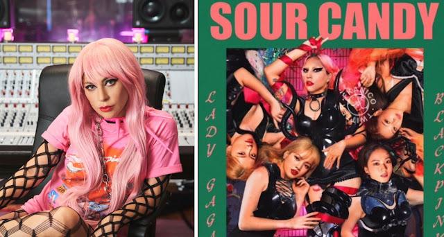 Sour Candy Lyrics By Lady Gaga-BLACKPINK