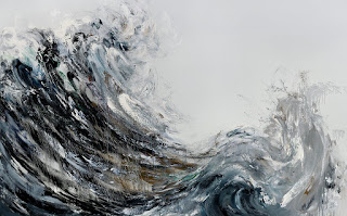 Wave Returning- 2009 -Maggi Hambling