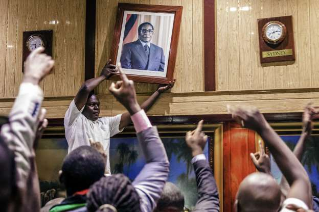 We will let Mugabes live in peace: Mnangagwa