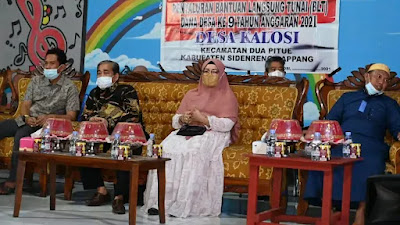 Bupati Sidrap Tinjau BUMDes Kalosi dan Pantau Penyaluran BLT