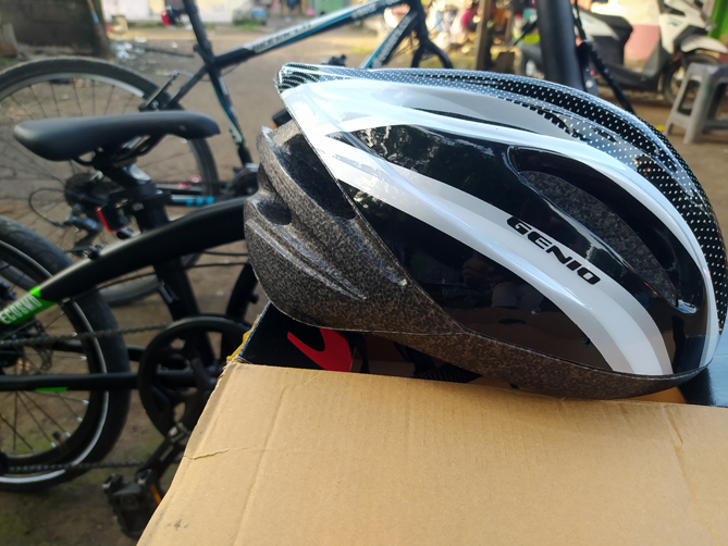 Helm Sepeda Genio Model G16-MTB
