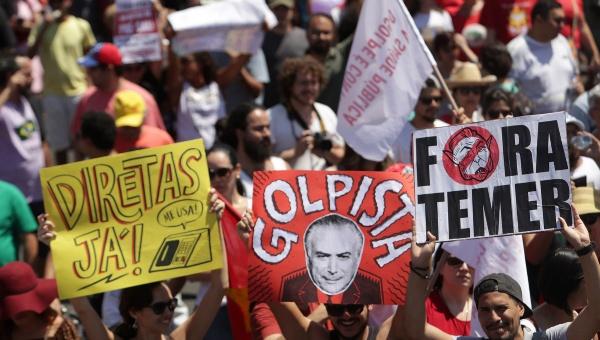 Temer ataca legado de Rousseff para justificar recortes sociales