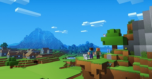 """Hình như hầu như các loạt game bên trên cộng đồng, Minecraft cũng cài khối hệ thống cheat code khá """"bá đạo"""""""