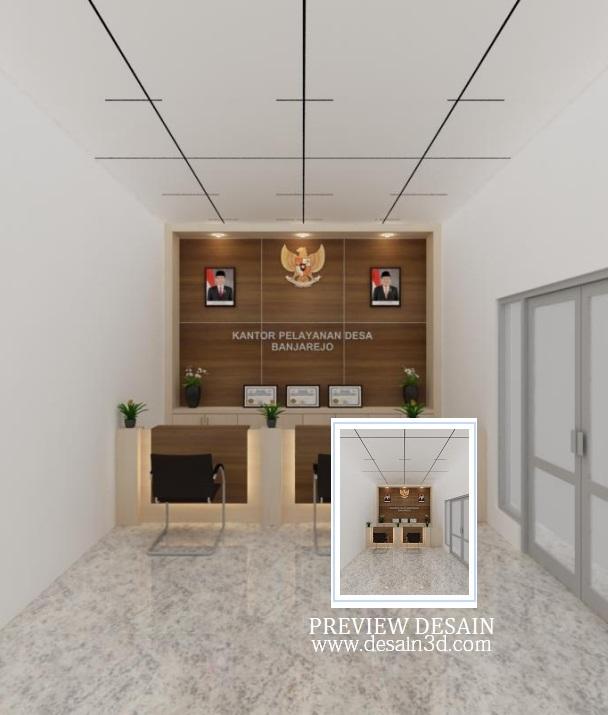 Contoh Gambar Plafon Pvc  478 ide desain kantor desa terlihat keren model rumah