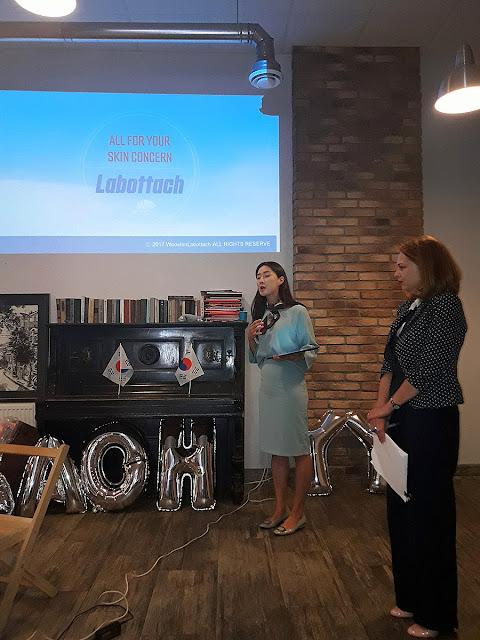 Презентация корейской косметики Labottach в Киеве