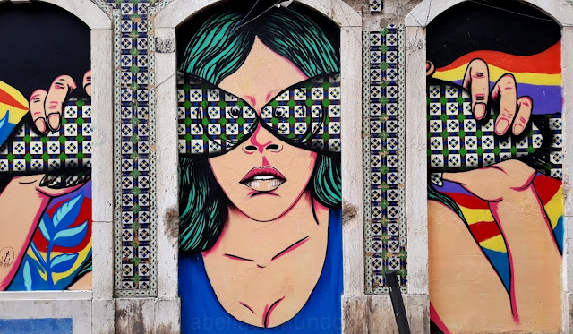 street art sesimbra abellaeomundo