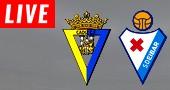 Eibar vs Cádiz LIVE STREAM streaming