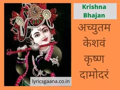 अच्युतम केशवं lyrics Achyutam Keshavam Lyrics In Hindi