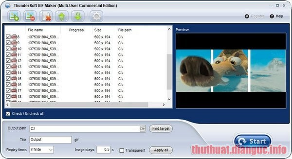 Download ThunderSoft GIF Maker 2.7.0 Full Crack