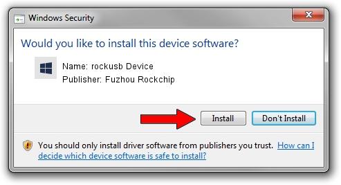 Rockusb Device drivers