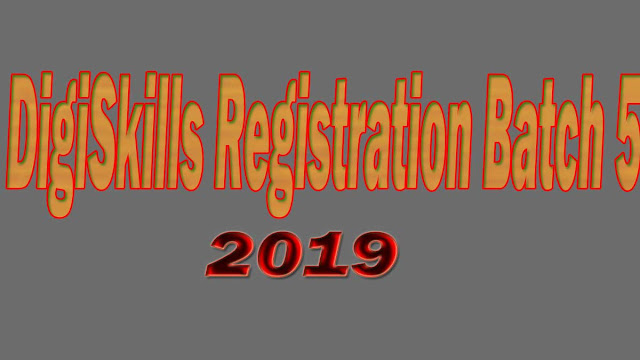 digiskills registration batch 5