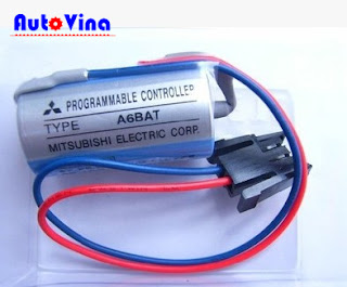 Đại lý bán Pin nuôi nguồn PLC Mitsubishi A6BAT, Battery PLC dòng A Mitsubishi