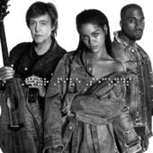 Rihanna and Kanye West and Paul McCartney Four Five Seconds Lyrics