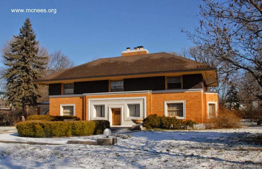 Un antecedente de la casa americana moderna y del estilo Moderno de la arquitectura