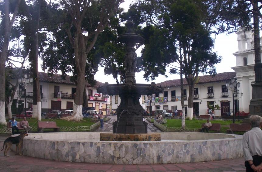 Fuente Plaza de Bolívar