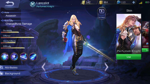 Best Gear Dan Build Hero Lancelot Savage Tersakit Dan Mematikan Full Damage