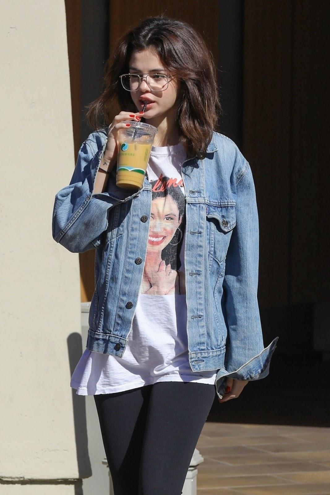 Selena Gomez – Street Style in Los Angeles