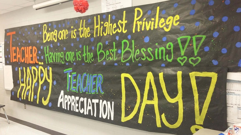 Teachers Appreciation Week | Pharr Far Away