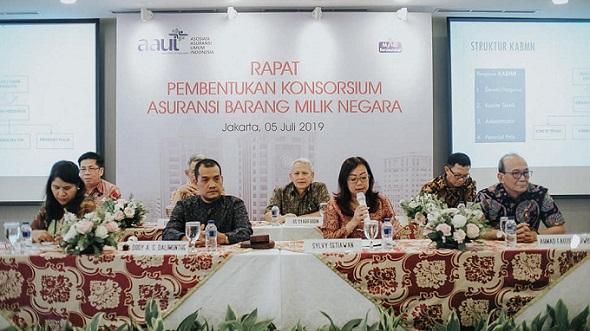 Pembentukan konsorsium asuransi barang milik negara