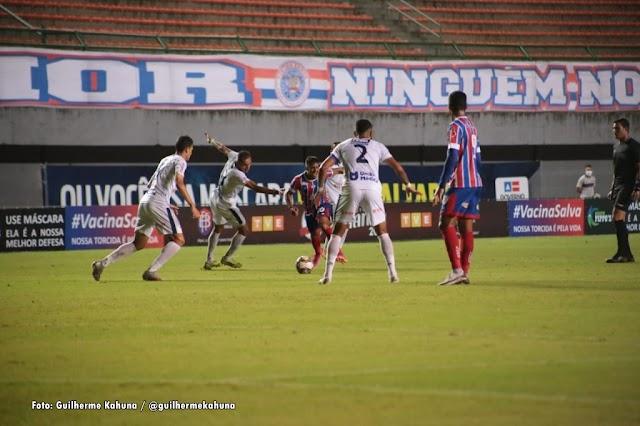 Bahia vence o Bahia de Feira e fica a um empate da final do Campeonato Baiano