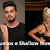 """Fã de Paula Fernandes e Lady Gaga  tatua """"Juntos e Shallow Now"""" no braço"""