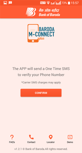 BOB MConnect app kaise activate kare?