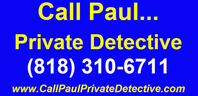 Paul Cazalet Van Nuys Private Detective