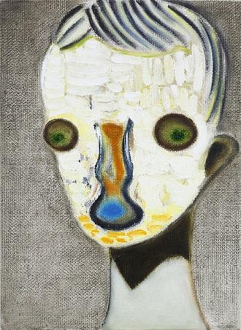Izumi Kato - Untitled - 2014 | imagenes de obras de arte contemporaneo tristes, lindas, de soledad | cuadros, pinturas, oleos, canvas art pictures, sad | kunst | peintures